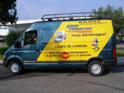 camion demenagement nice